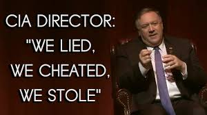 Ex-CIA director Pompeo: 'We lied, we cheated, we stole' - YouTube